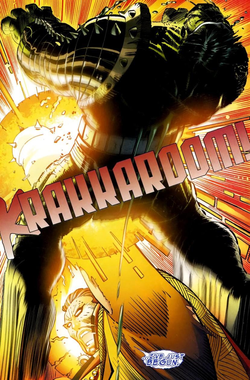 World War Hulk Dr. Strange