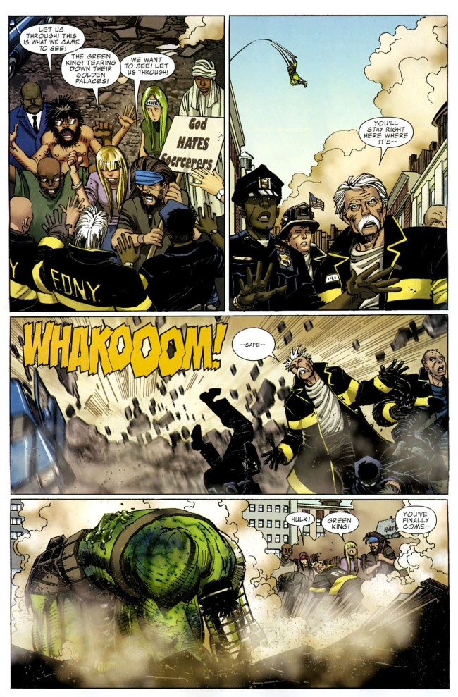 World War Hulk Dr. Strange
