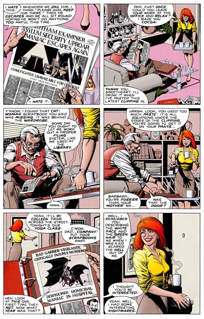 joker paralyzes Barbara Gordon