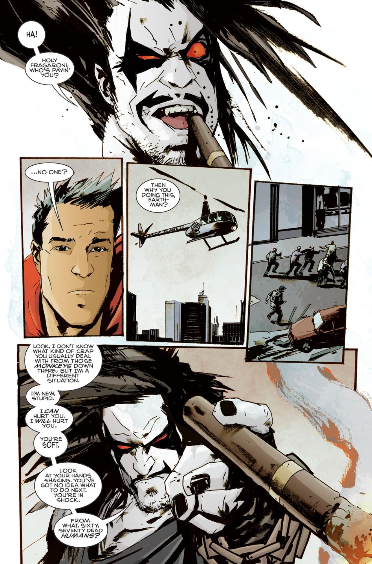 Superman vs. Lobo