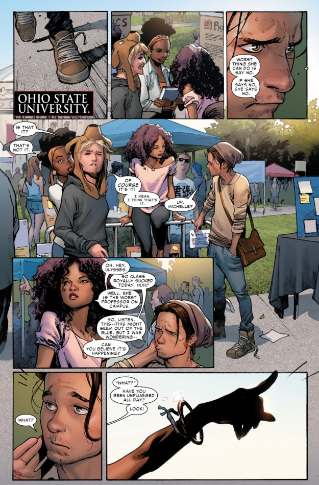 Civil War II Terrigen Mist Ohio State Universtity