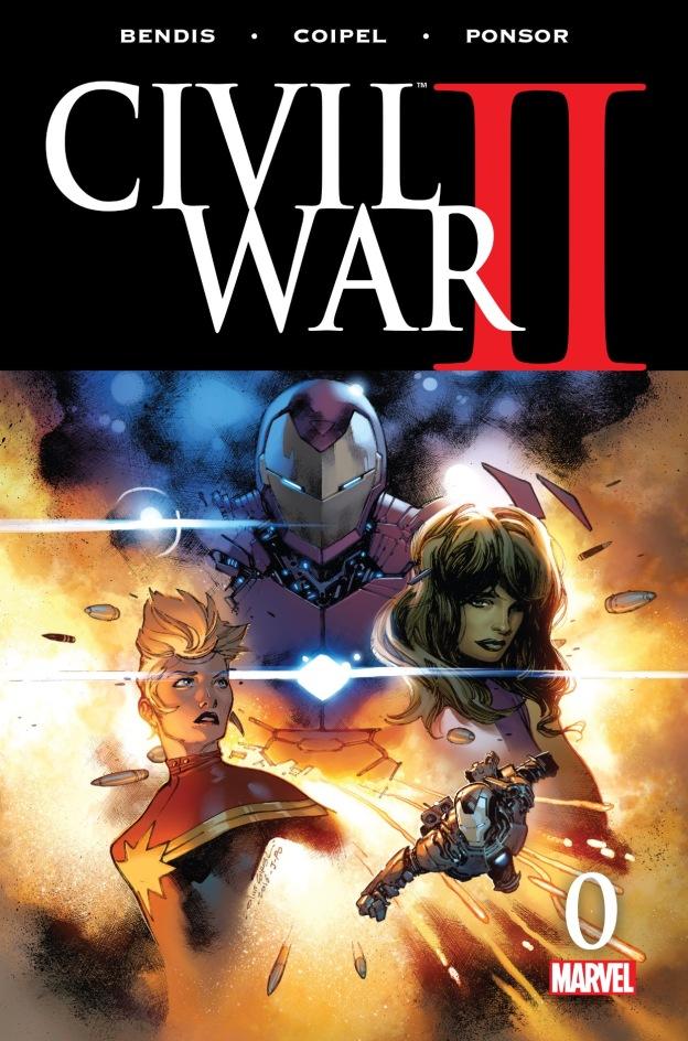 Civil War II # 0