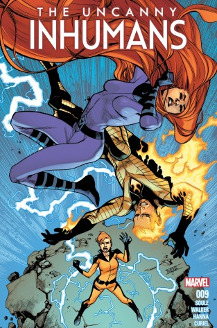 Image result for Human Torch and Medusa