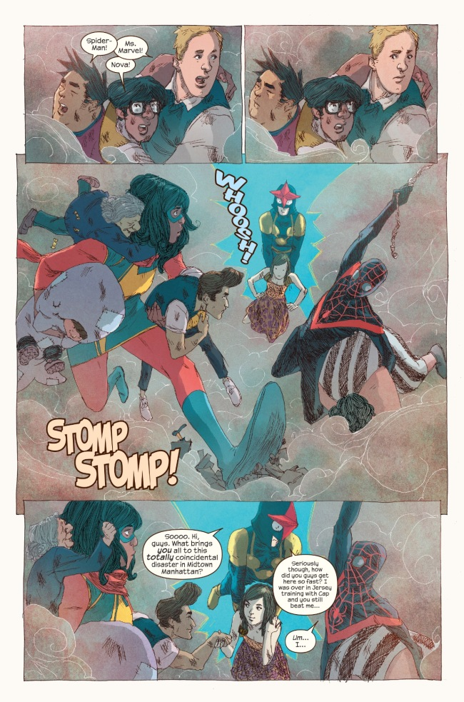 Ms. Marvel and Miles Morales
