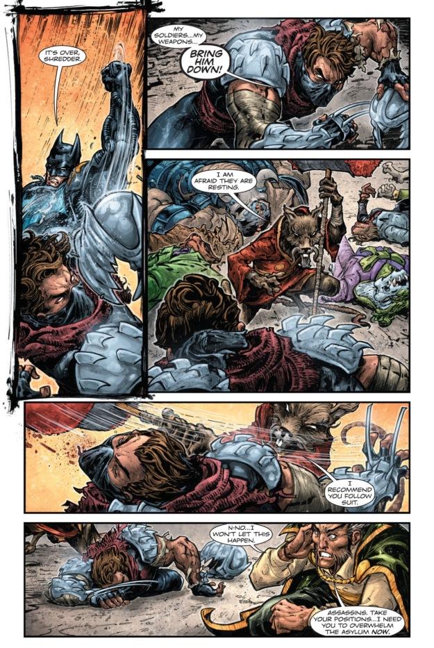 Batman vs Shredder