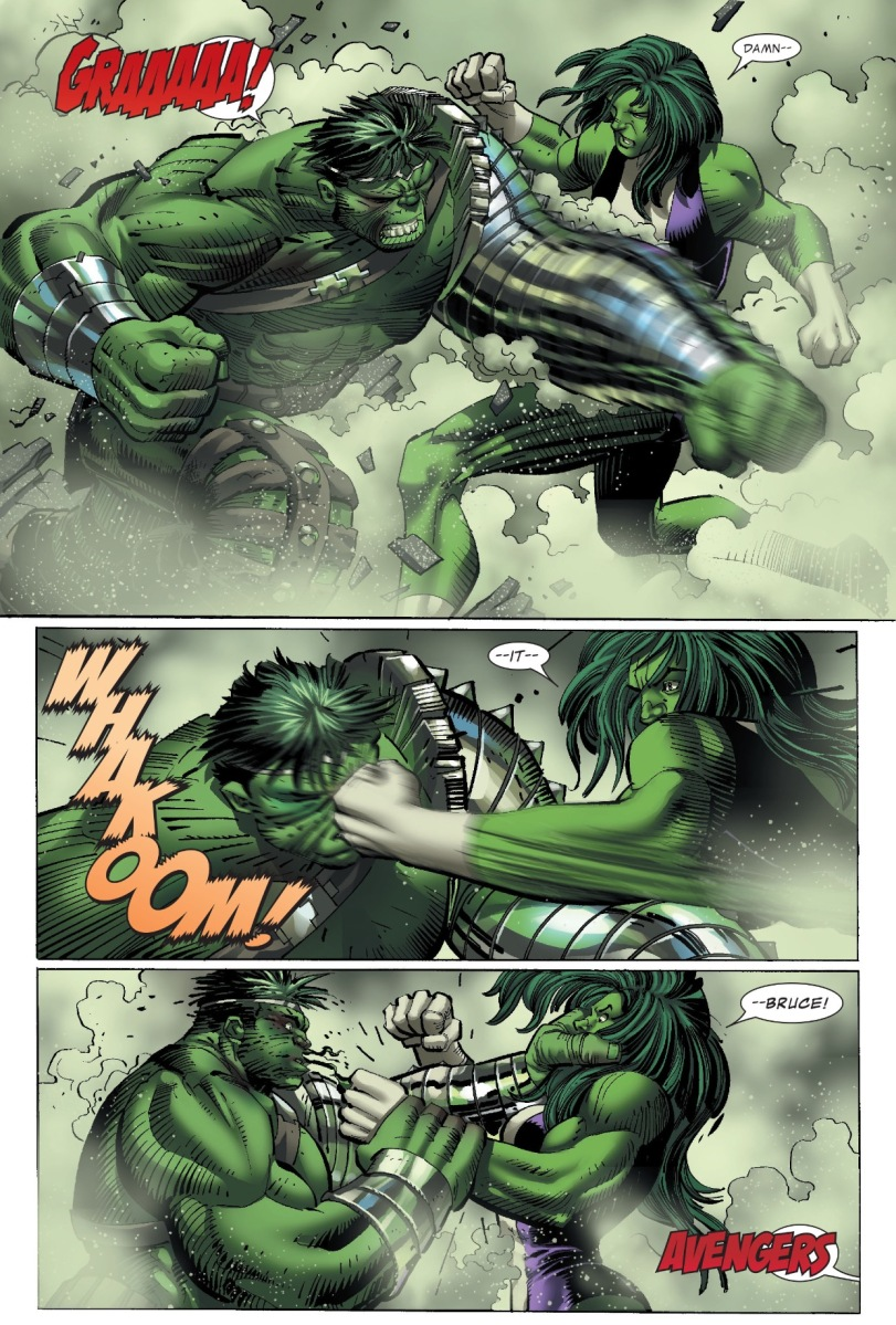 The Incredible Hulk vs. She-Hulk (World War Hulk)
