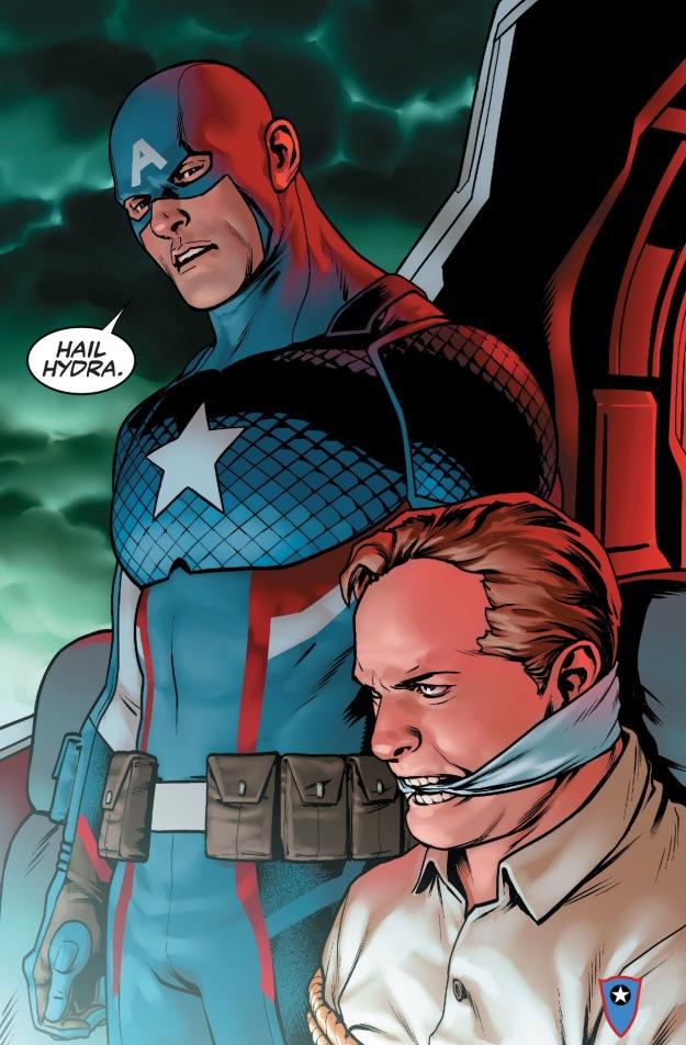 Captain America #1 HYDRA
