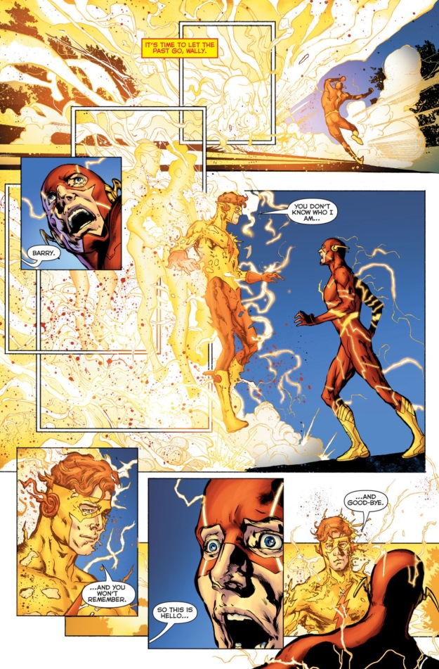 DC Rebirth Barry Allen and Wally West Flash