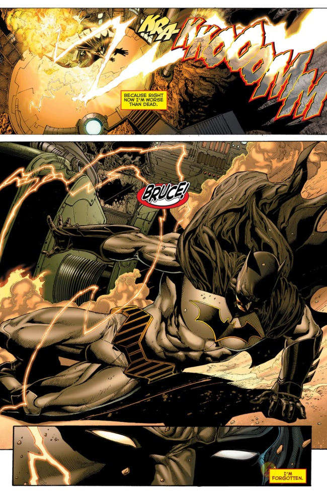 DC Rebirth #1 Wally West warns Batman