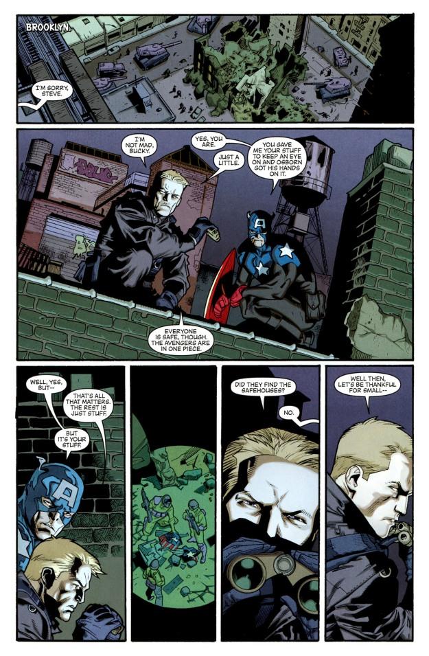 Steve Rogers and Bucky Barnes