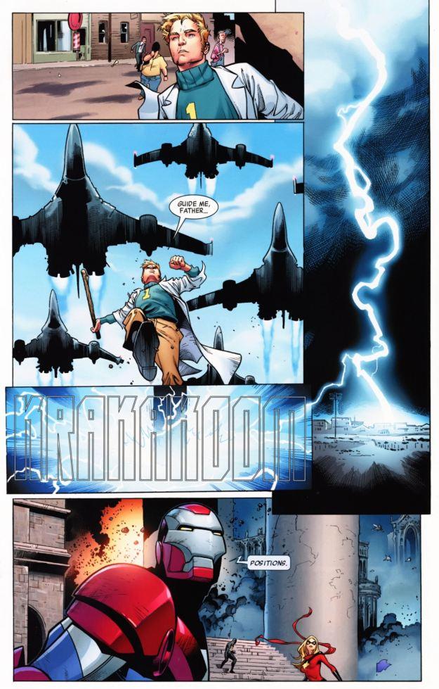 Norman Osborn invades Asgard