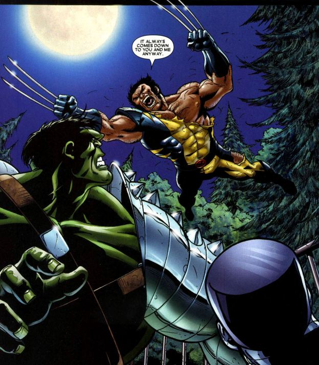 wolverine hulk world war hulk