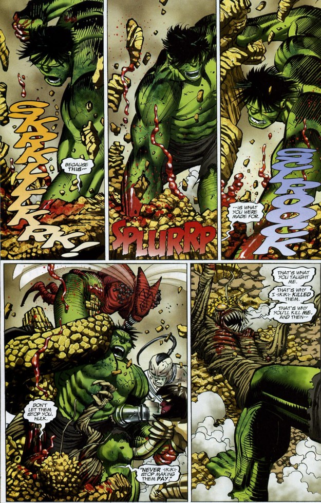 World War Hulk finale