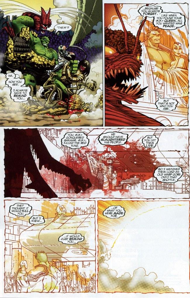 World War Hulk finale