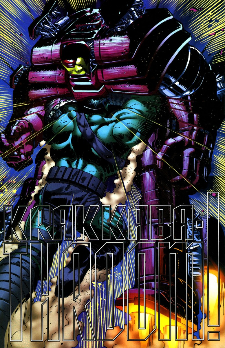 The Incredible Hulk vs. The Invincible Iron Man (World War Hulk)