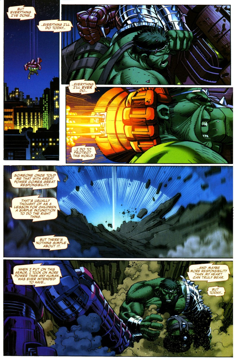 World War Hulk - Hulk vs. Iron Man (1)