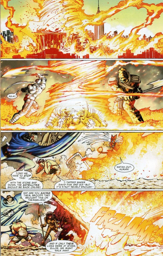 World War Hulk vs The Sentry (11)