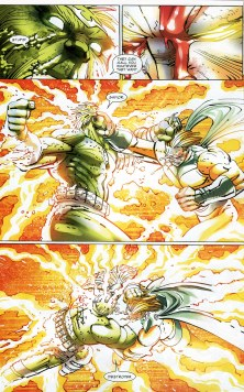 World War Hulk vs The Sentry