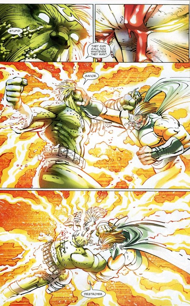 World War Hulk vs The Sentry