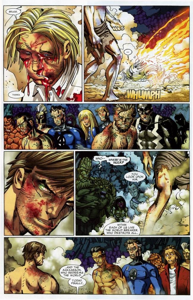 World War Hulk vs The Sentry (20)