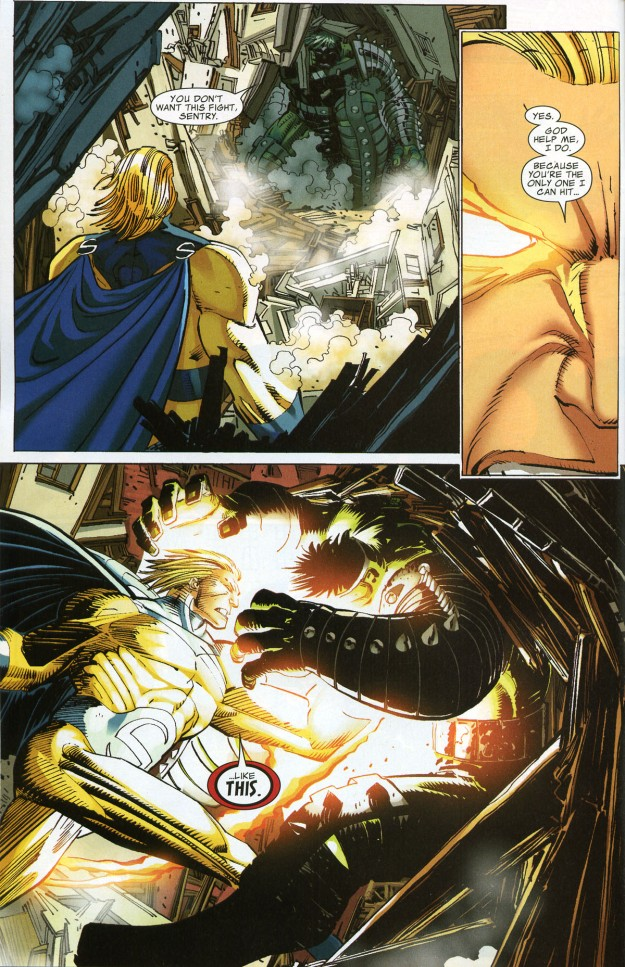 World War Hulk vs The Sentry (3)