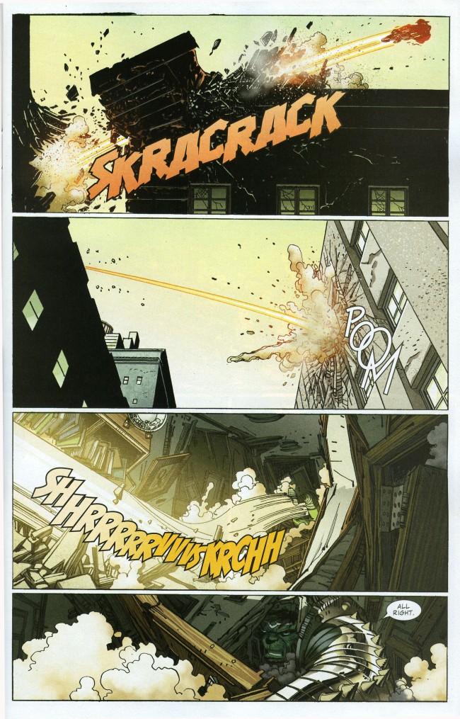The Incredible Hulk vs. The Sentry (World War Hulk ...