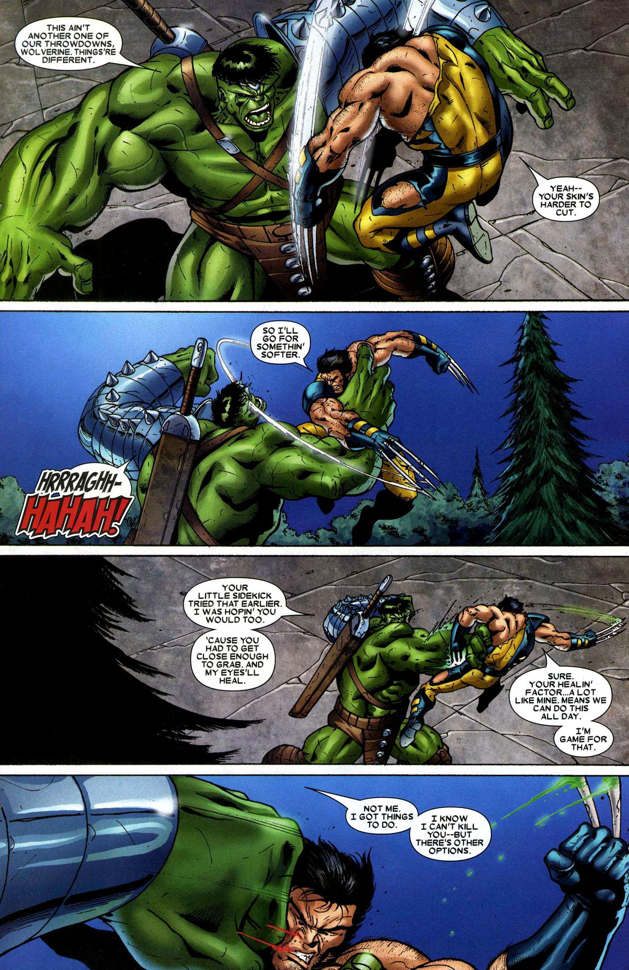 189b020999a The Incredible Hulk vs. Wolverine (World War Hulk)