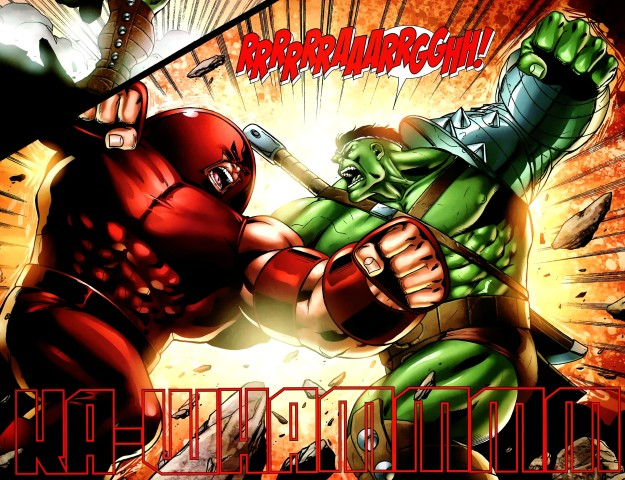Hulk vs. Juggernaut World War Hulk