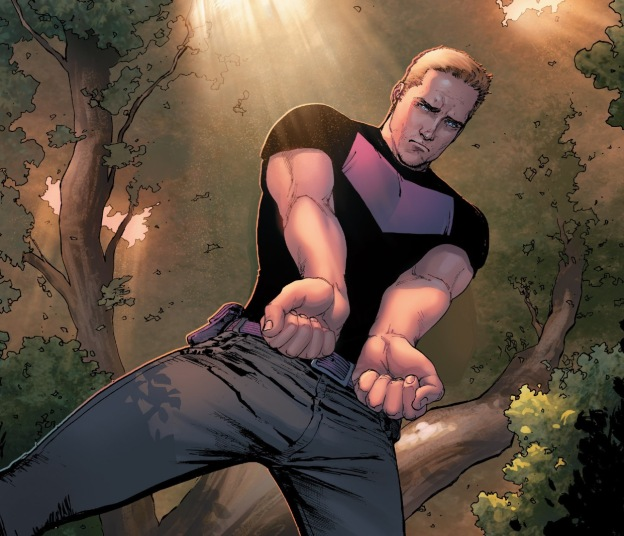Hawkeye kills hulk, Civil War 2