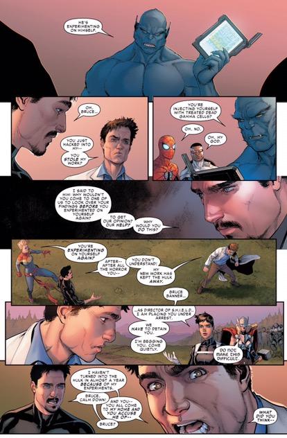Tony Stark, Carol Danvers Civil War 2