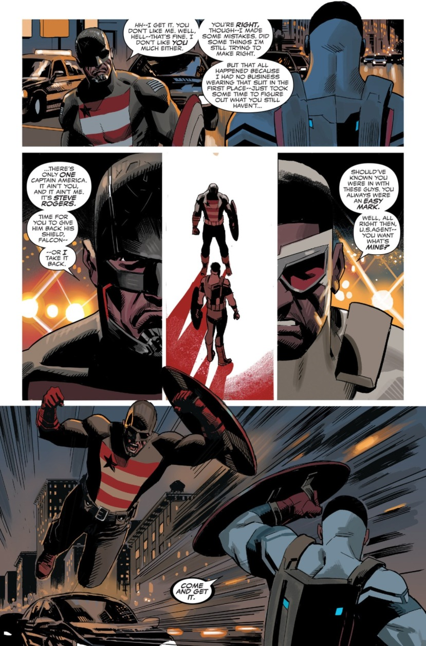 captain america vs. us agent