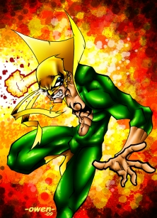 Iron Fist deviantart