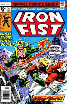 Iron Fist vs. Sabertooth
