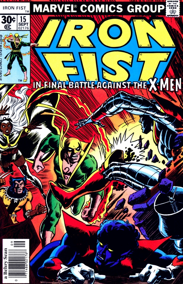 Iron Fist vs. The X-Men