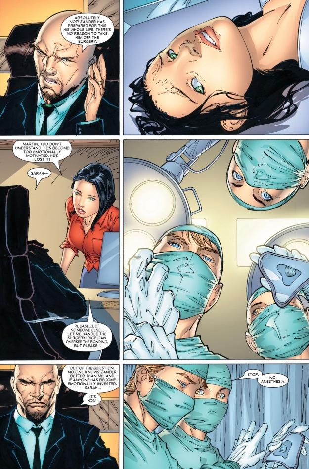 X-23 adamantium claws