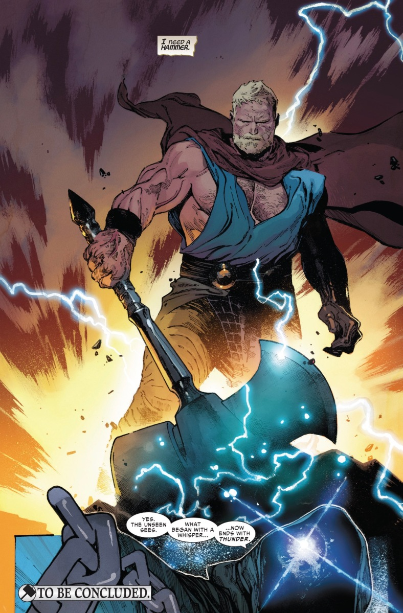 The Unworthy Thor vs. Black Swan, Proxima Midnight and The Collector (The Unworthy Thor)