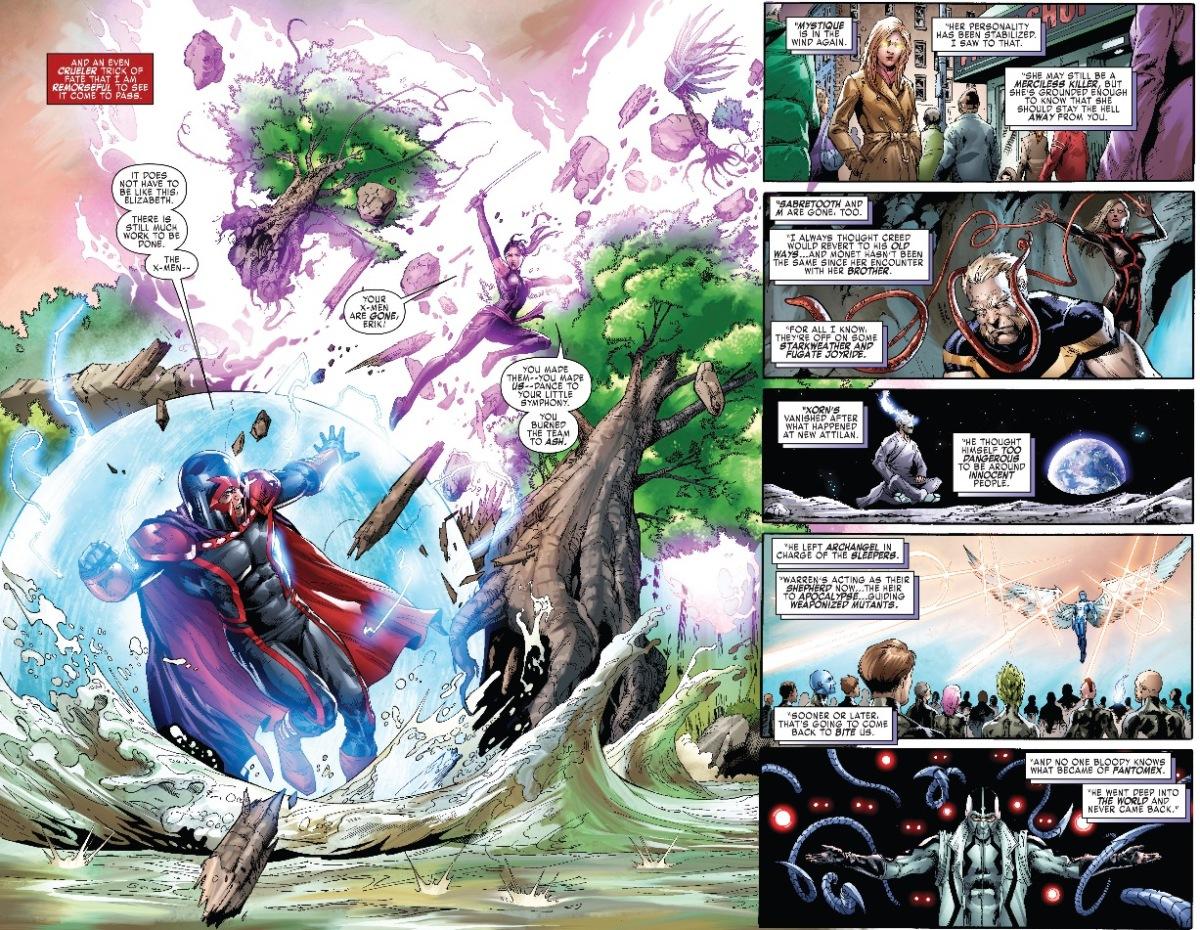 Psylocke vs. Magneto (Uncanny X-Men)