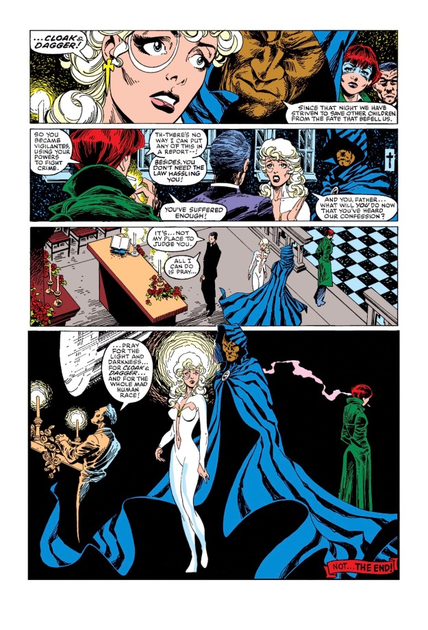 Cloak and Dagger Origin story
