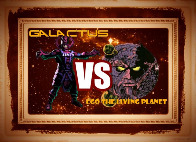 galactus tries to eat ego the living planet