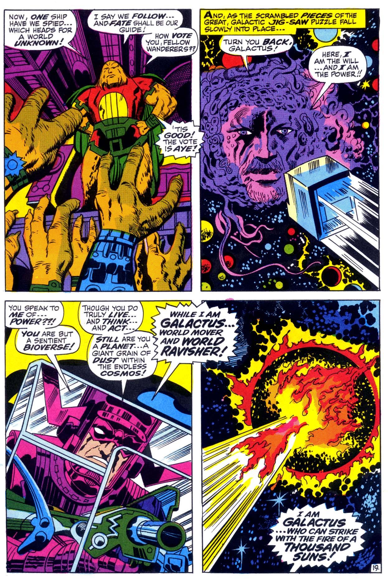 Can Galactus Eat Ego The Living Planet? | lowbrowcomics