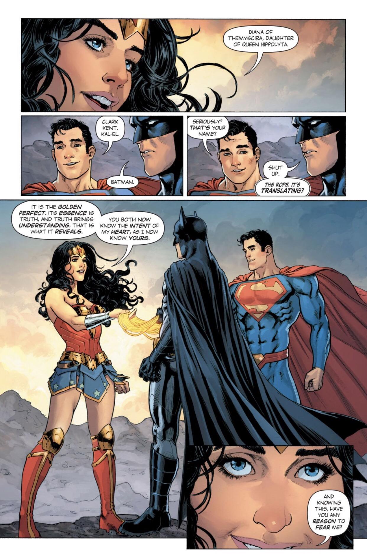 Does Wonder Woman's Lasso of Truth Work on Batman?