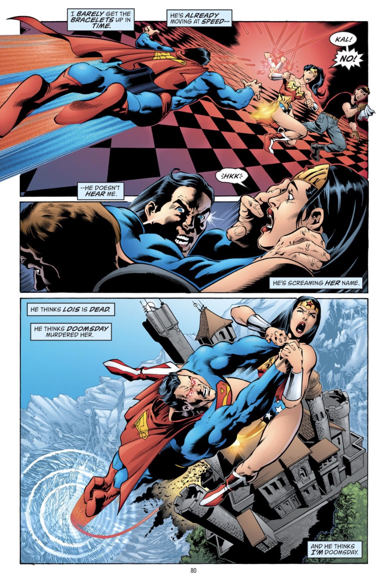 Superman versus wonder woman-9769