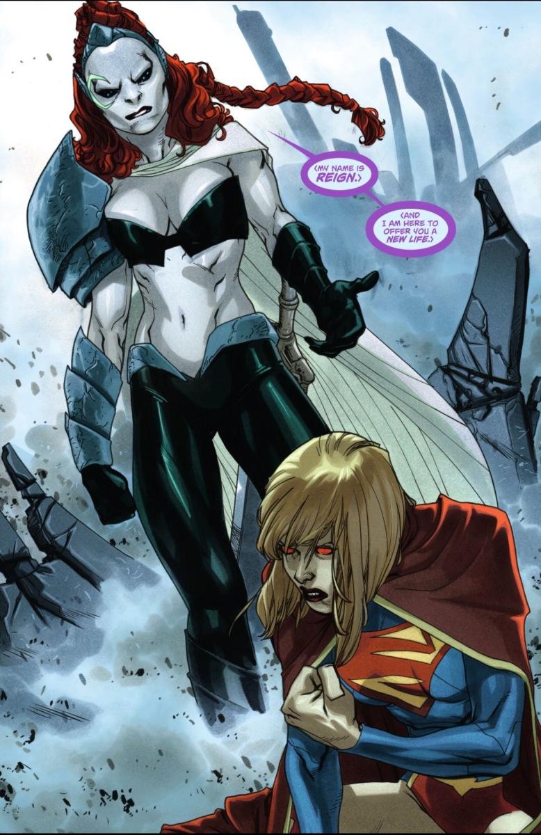 Supergirl vs. Reign