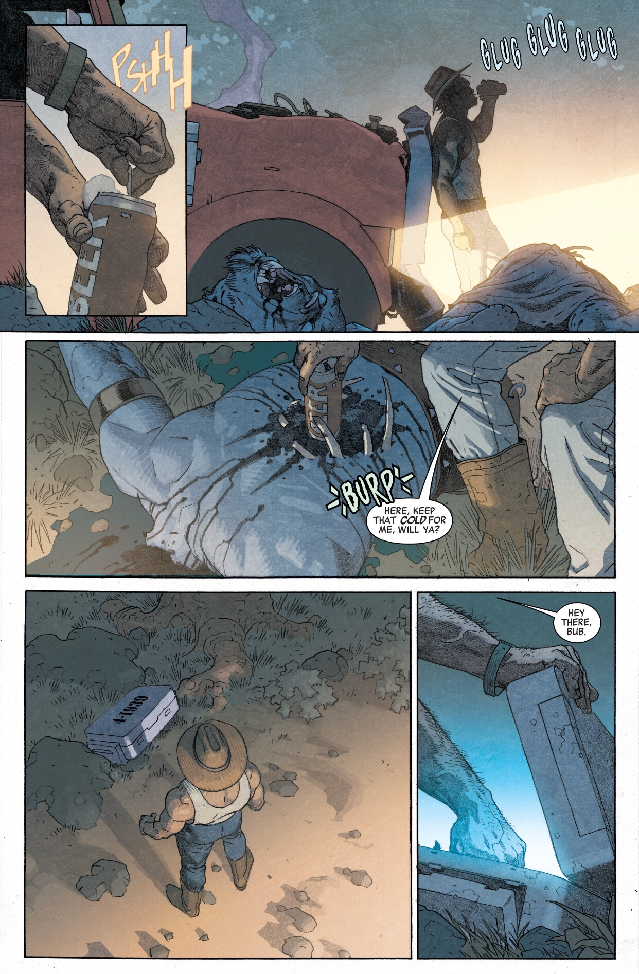 Wolverine finds the space stone