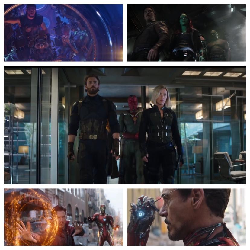 Infinity war marvel gif