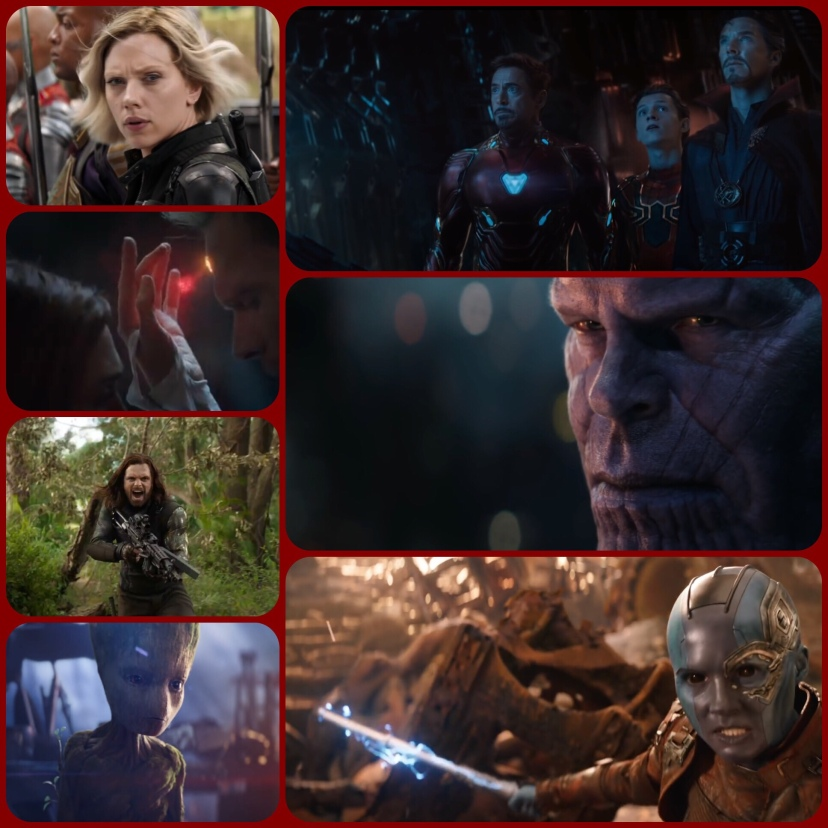 Avengers Infinity War pictures