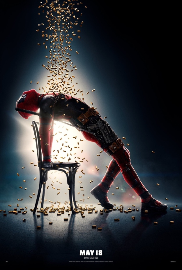 Deadpool movie poster flashdance jennifer beals