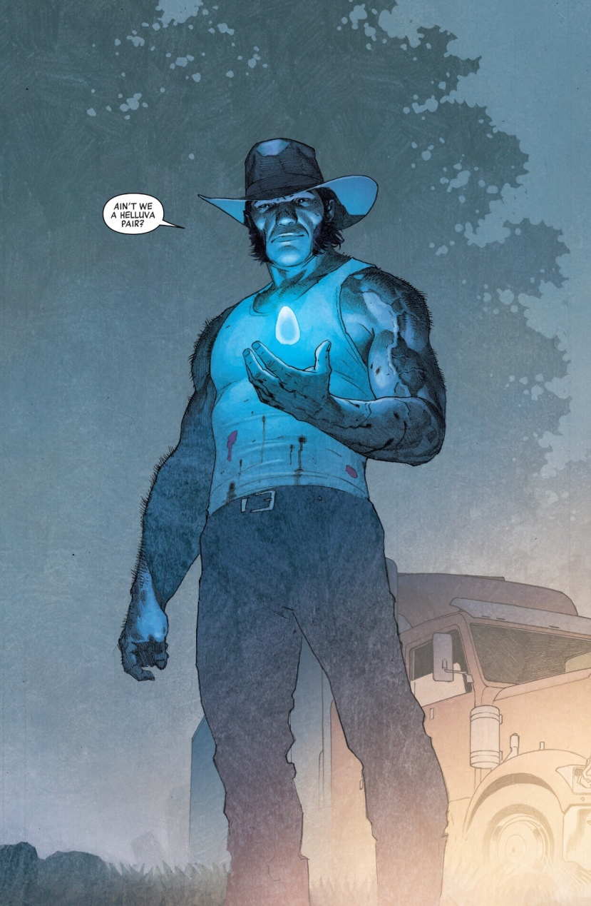 Wolverine space infinity stone