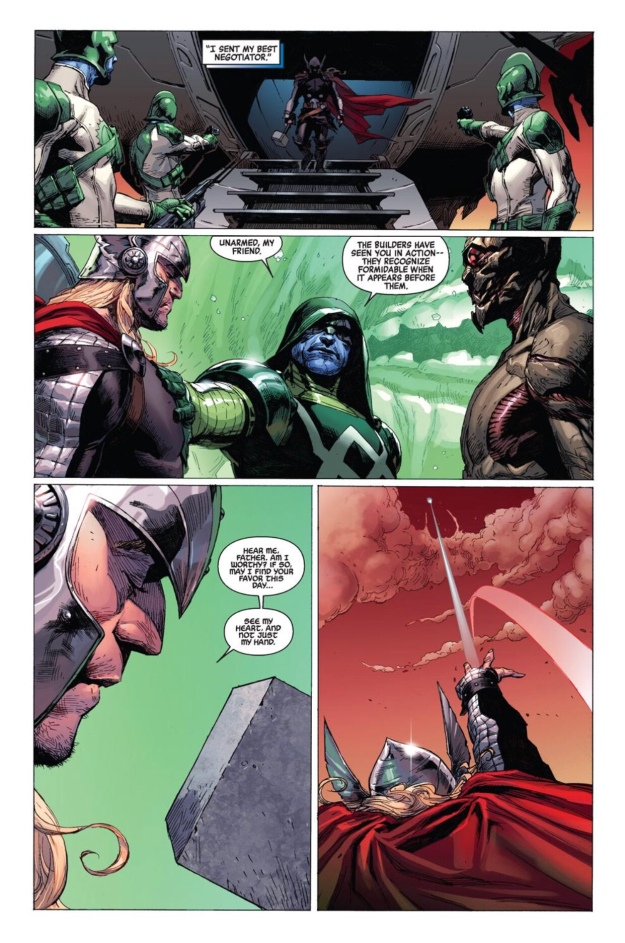 how does mjolnir come back