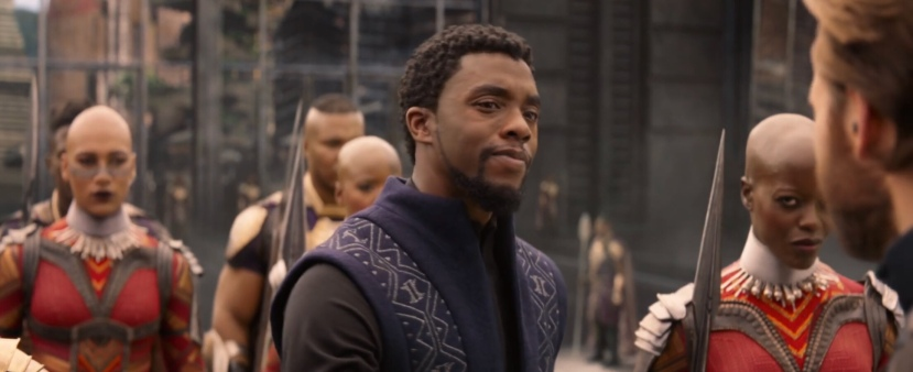 is black panther in avengers infinity war?
